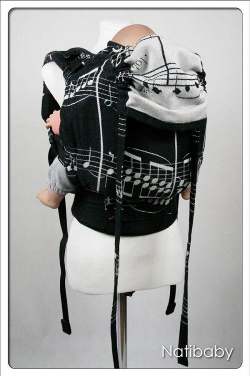Nati Notes NatiGo Soft Structured Carrier, $176 @wrapyourbaby.com