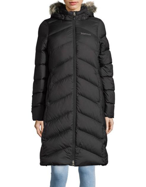Marmot Faux-Fur Trimmed Hooded Zip-Front Coat, $225 @lordandtaylor.com