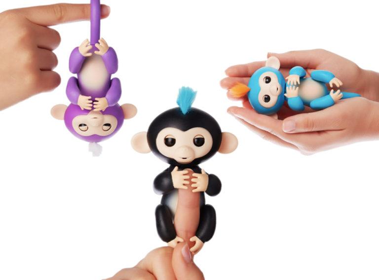 WowWee Fingerlings Interactive Baby Monkey, $50 @amazon.com