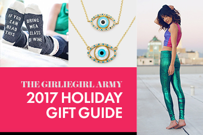GirlieGirl Army Holiday Gift Guide 2017
