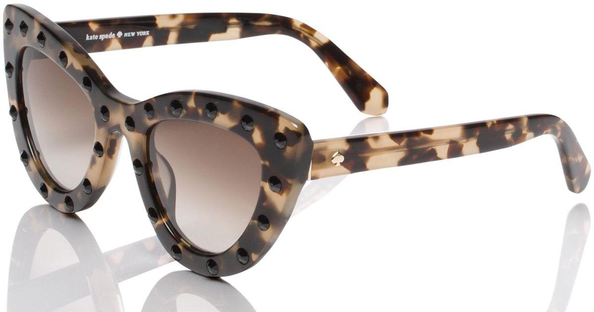 Kate Spade Women's Luann Cateye Sunglasses, $90