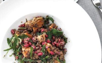 Quinoa, Fennel & Sweet Potato Salad