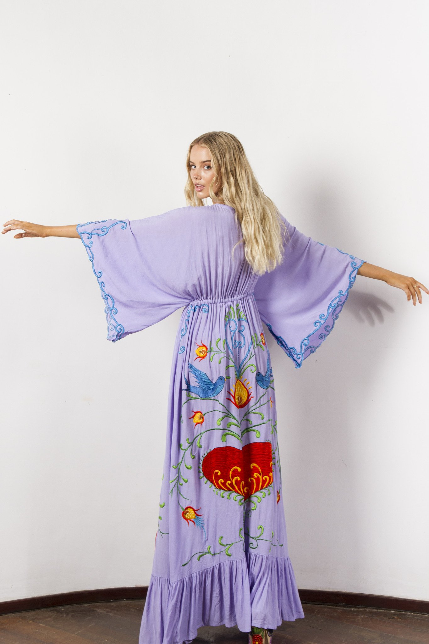 This 'Strange Magic' duster is individually hand crafted by artisans on the Island of Bali, $345 @fillyboo.com
