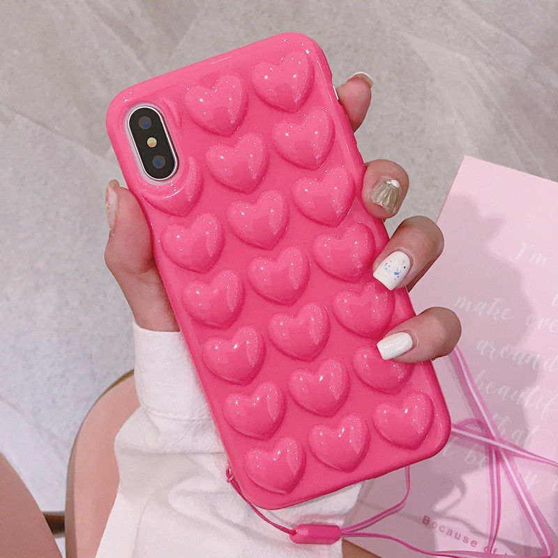 3D Heart Phone Case, $1.59 @ebay.com
