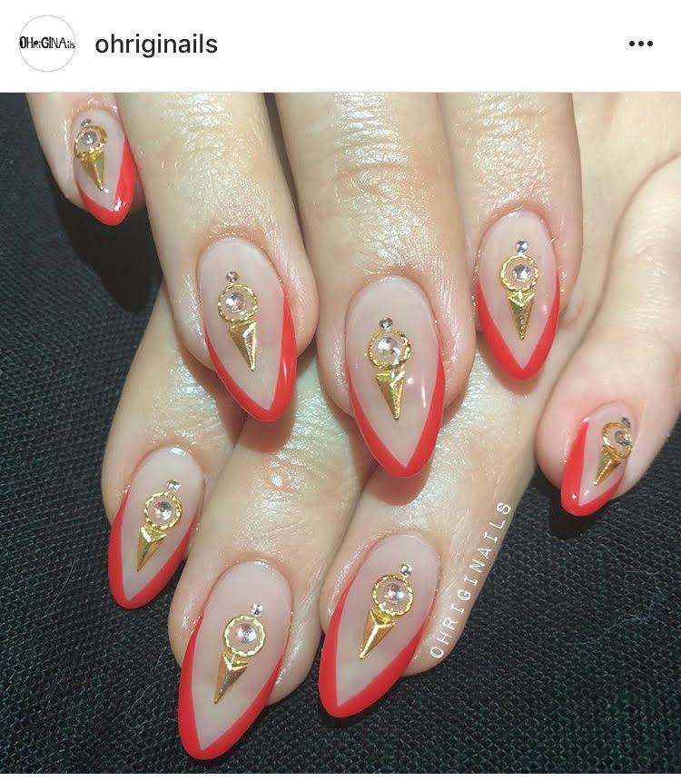 """Gina Aka """"The Hand"""" is the hottest star in nails in NYC, as she says; """"When your nails are on point, your life is on point."""" If you get your honey an appointment with Gina, she'll trip! Book by emailing or calling: Ohriginailsbooking@gmail.com/ 585-402-5567 - prices start at $100 and up."""