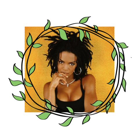 In 1999, People Magazine named Grammy award-winning artist Lauryn Hill one of its 50 Most Beautiful People, locs and all. Source.