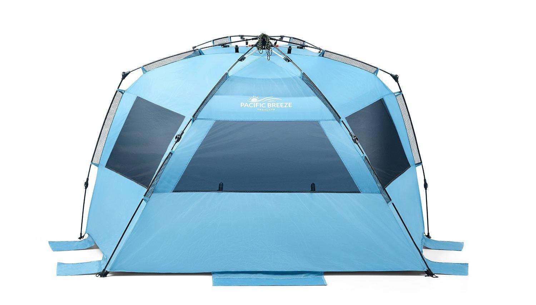 Pacific Breeze Easy Up Beach Tent Deluxe, $99 @amazon.com