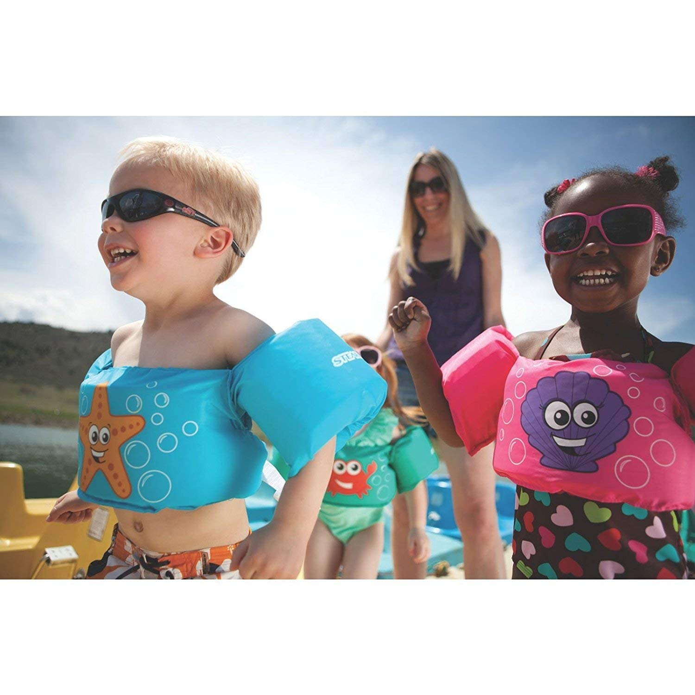 Hyker Children's Swim Vest Arm Bands Wear Float Safe Toddler Life Jacket, $15 @amazon.com