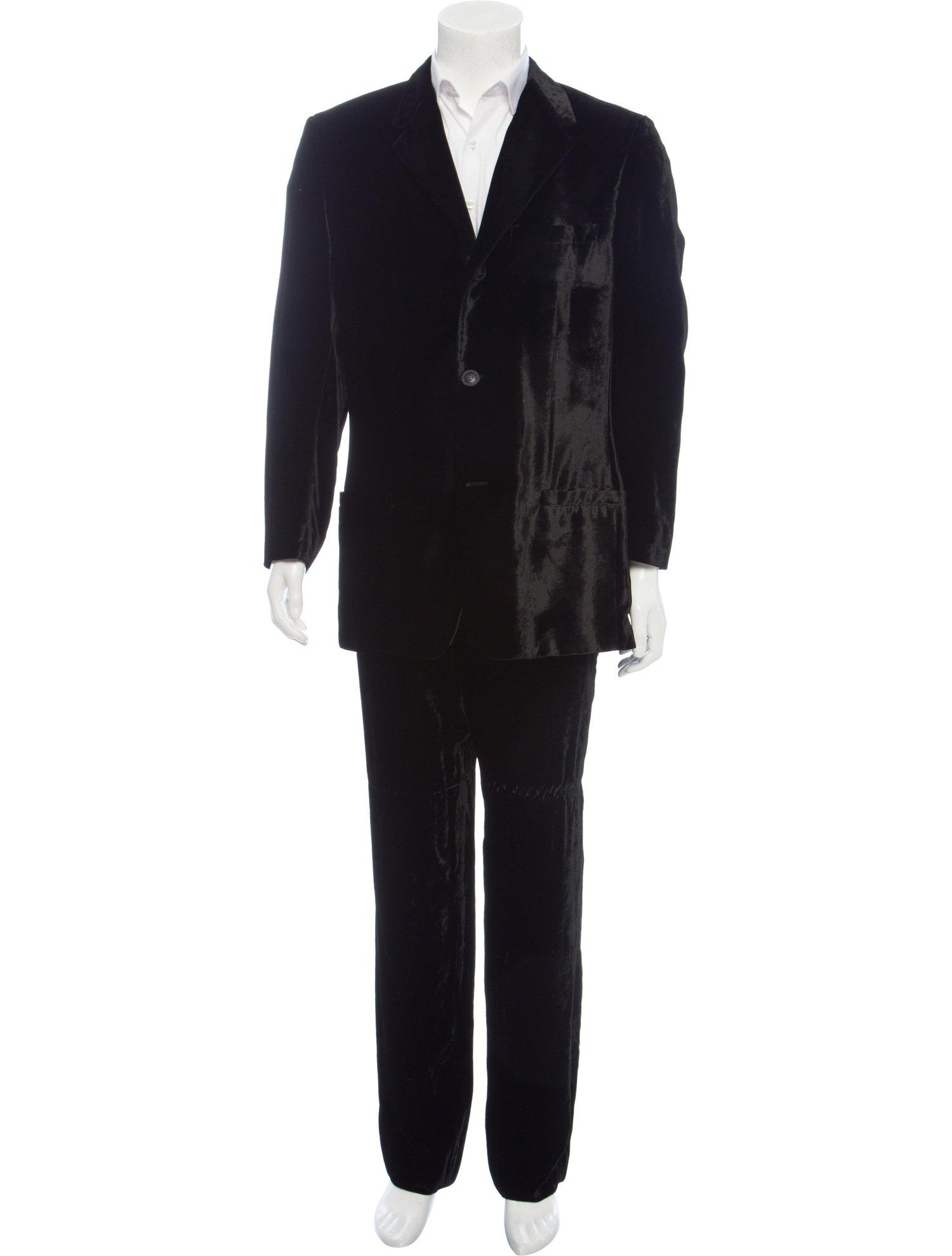 Vintage Versace Velvet Men's Two-Piece Suit, $472 @therealreal.com
