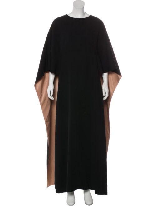 VALENTINO Crepe Gown Now 30% off - $1256.50, Retail Price Was $7,980.00 @therealreal.com