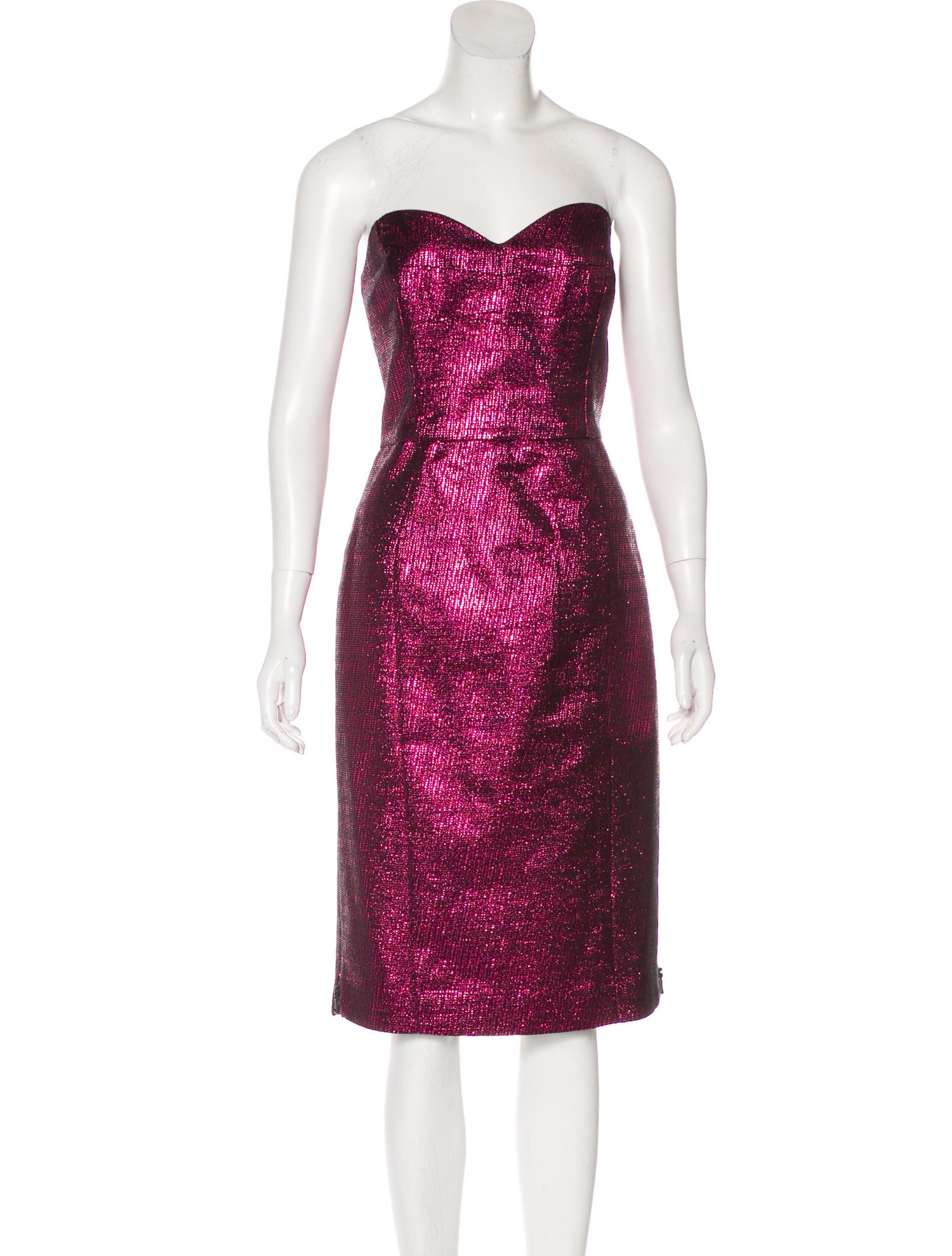 Milly Marta Strapless Dress w/ Tags $95 & 20% Off Use Code: REAL