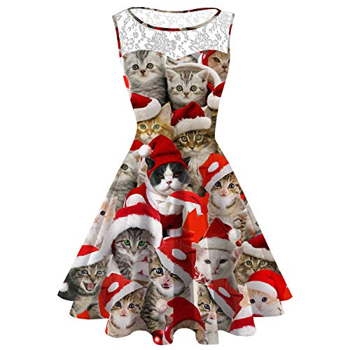 Christmas Cat Dress, $29.99 @amazon.com
