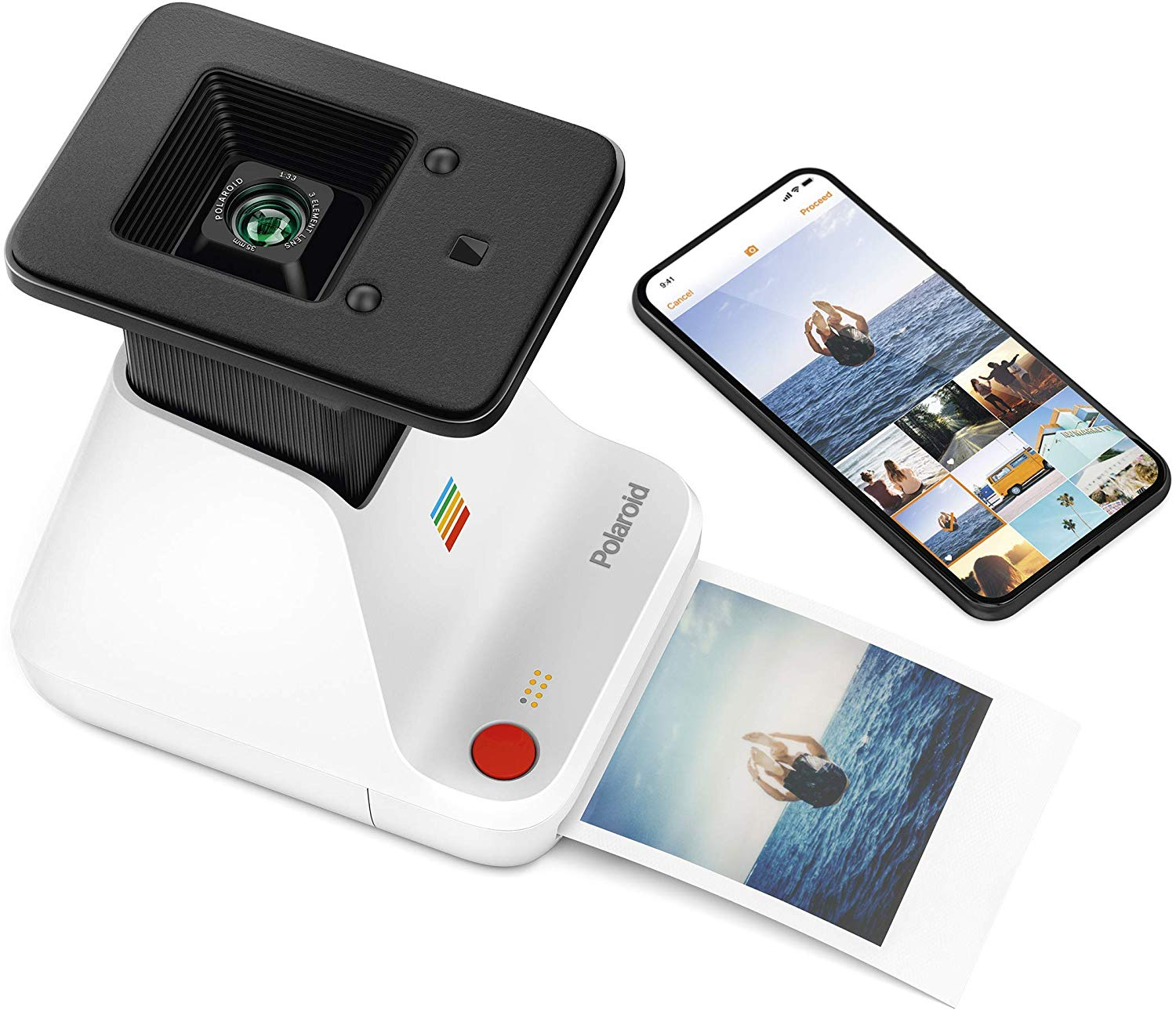 The Polaroid Lab - Digital to Analog Polaroid Photo Printer, $130 @amazon.com