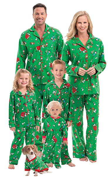 PajamaGram Family Christmas Pajamas Soft, $16-69 @pajamagram.com or amazon.com