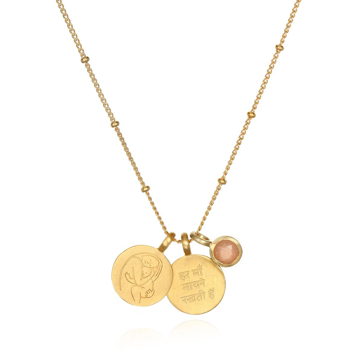 Mother's Love Necklace, $109 @satyajewelry.com - For every piece sold, Satya Jewelry will donate $50 to Every Mother Counts to support its mission.