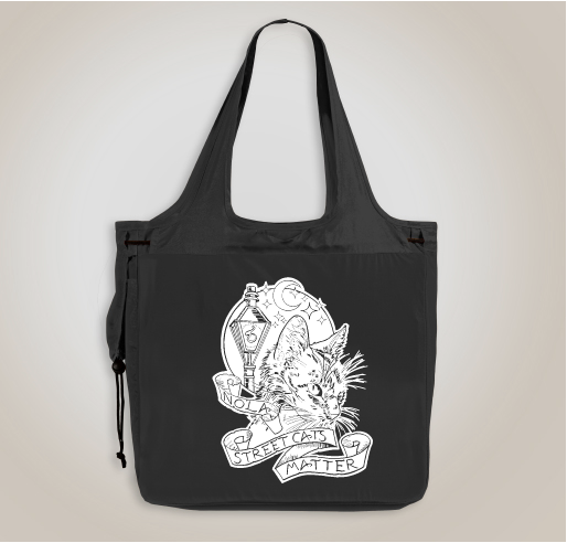 Street Cats Matter tote bag, $25 @customink.com