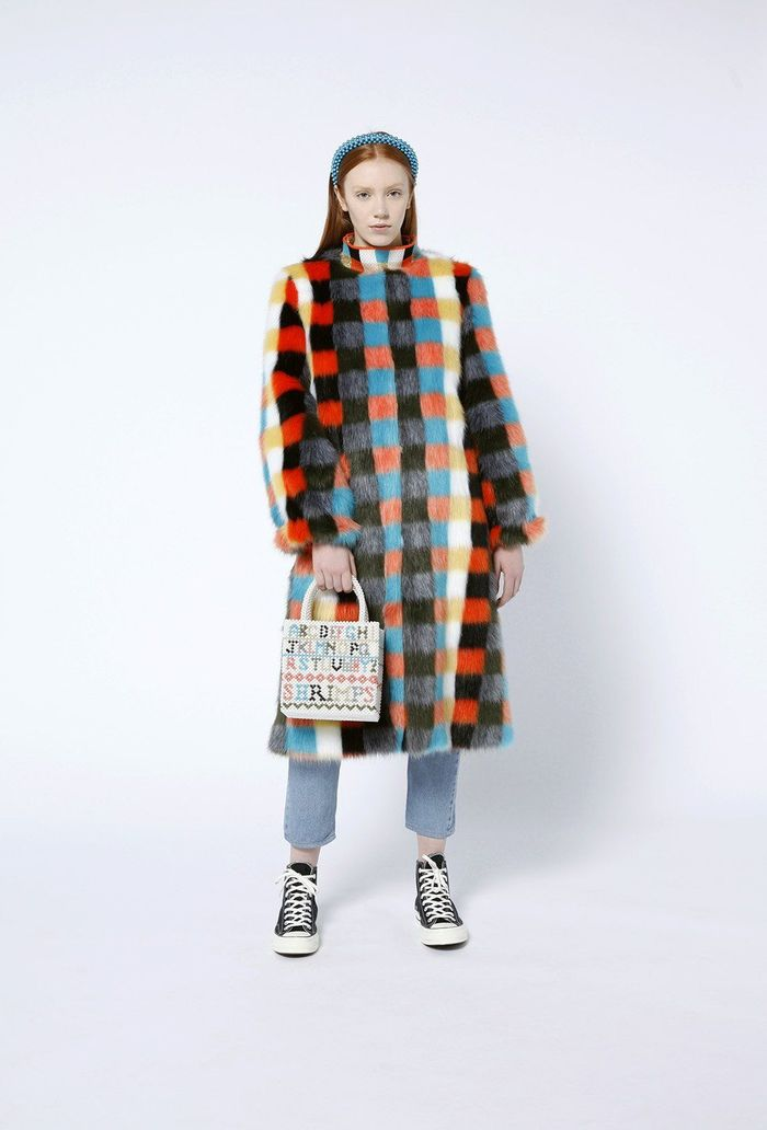 Estelle Coat, $1,050 @shrimps.com