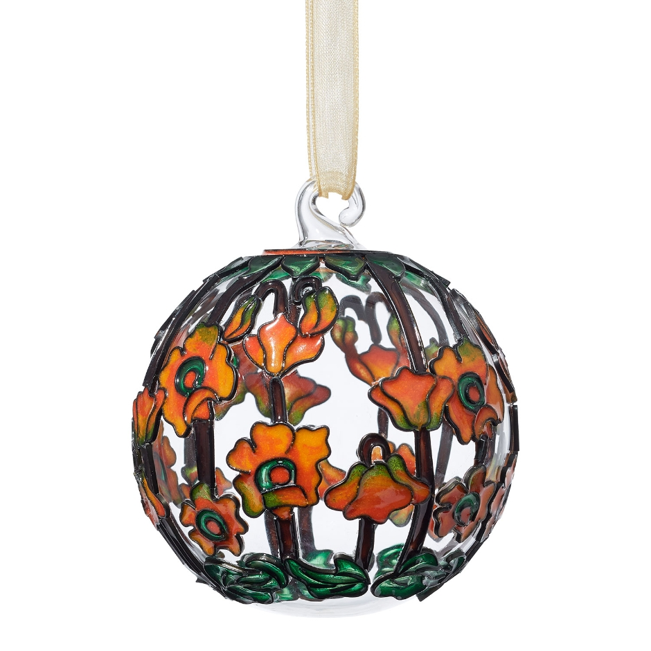 Louis C. Tiffany Poppy Ornament, $48 @metmuseum.org