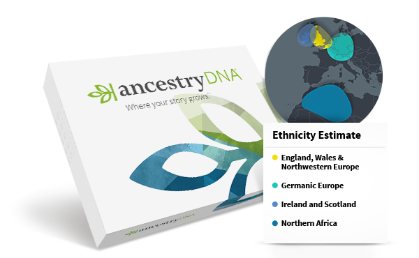 Ancestry DNA Kit, $59-99 @ancestry.com (save 15% with our direct link - click image)