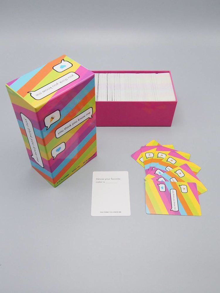 You Think You Know Me Card Game, $30 @herbivoreclothing.com