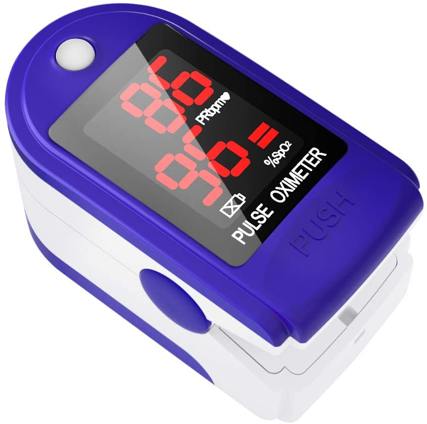 Pulse Oximeter, $50 @amazon.com (Our Doctor has told us these are worth their weight in gold right now. There are very few available, so if you're sending a gift to your Mom or Dad in Florida, you may want to send them one of these as well. It could save their life.)