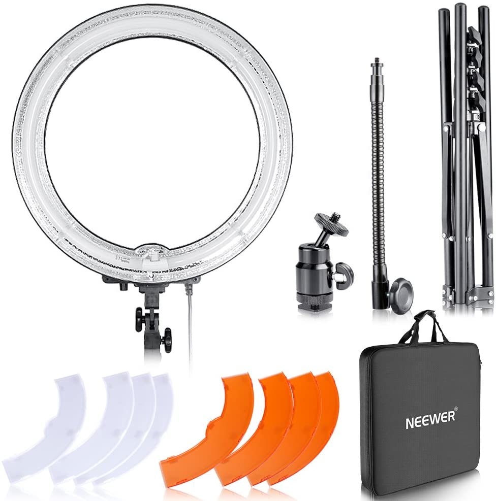 Ring Light for Photography/ YouTube, $90 @amazon.com