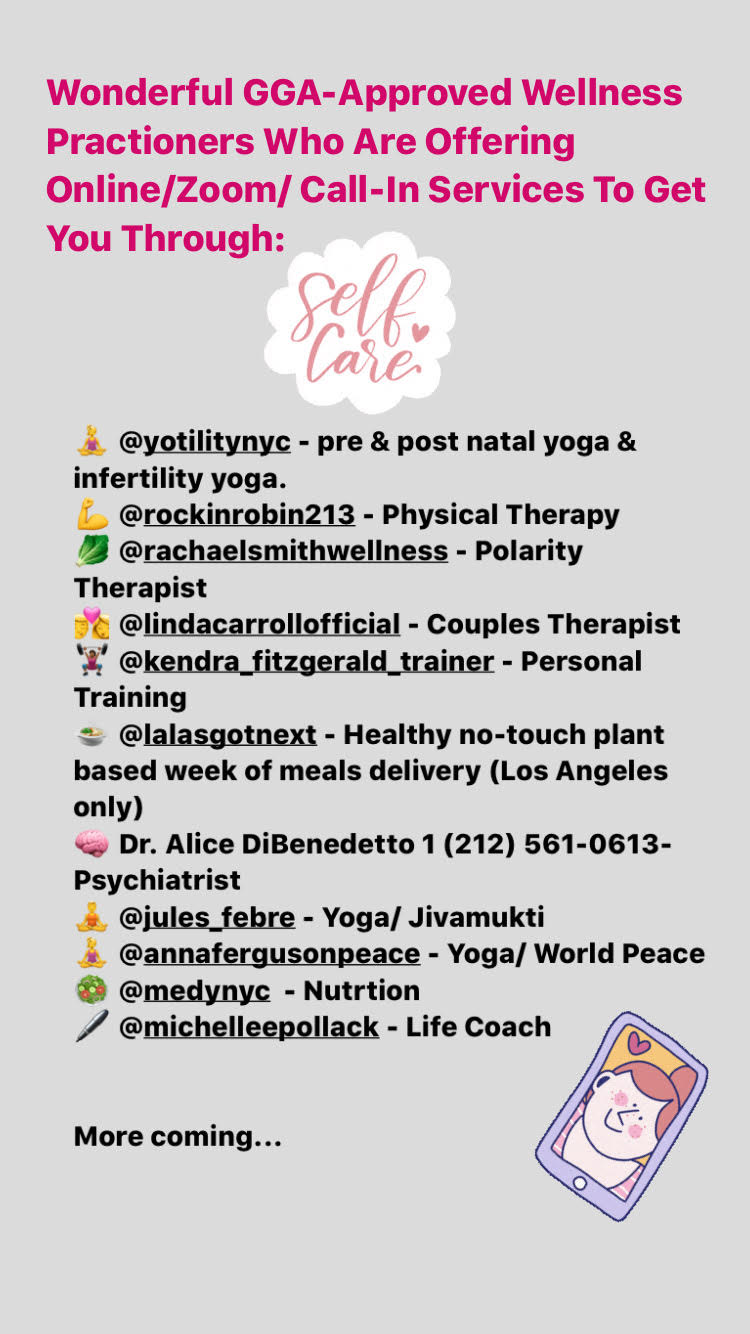 Gift them a session with one of these pre-approved GirlieGirlArmy.com wellness practitioners - all offering sessions on ZOOM!