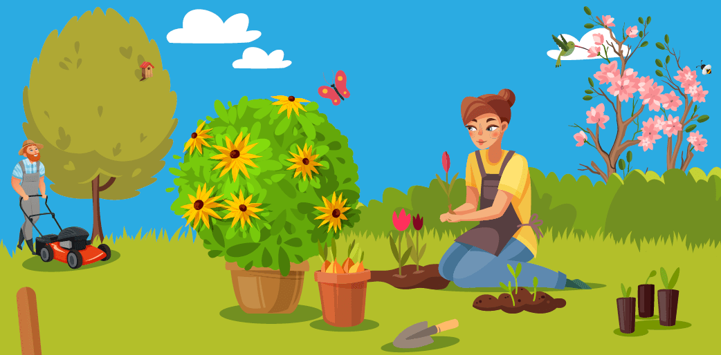 Choose Flowering Plants For Pollinators While Sheltering At Home