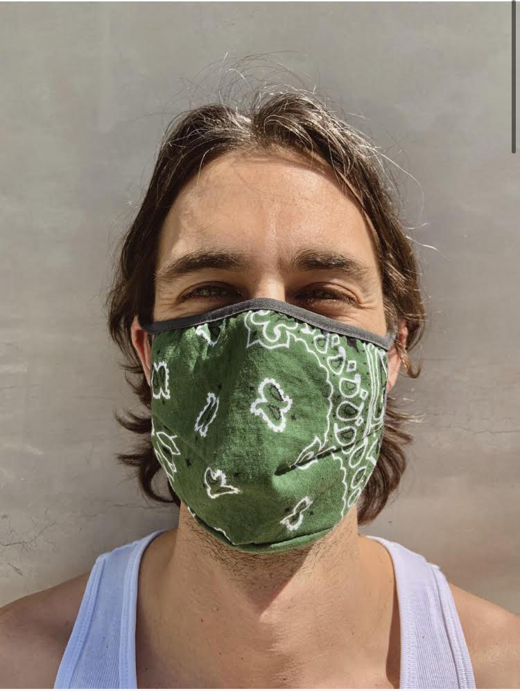 Suay Mask - Vintage Bandana (2 pack), $44 @suayla.com