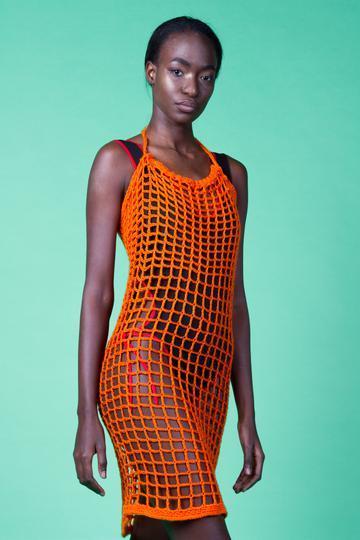 Eco Cotton Crochet Beach Dress, £88 @morethanswim.com