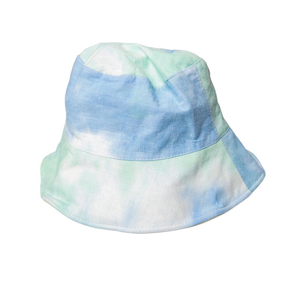 Blue Tie Dye Bucket Hat, $15 @handyhats.com