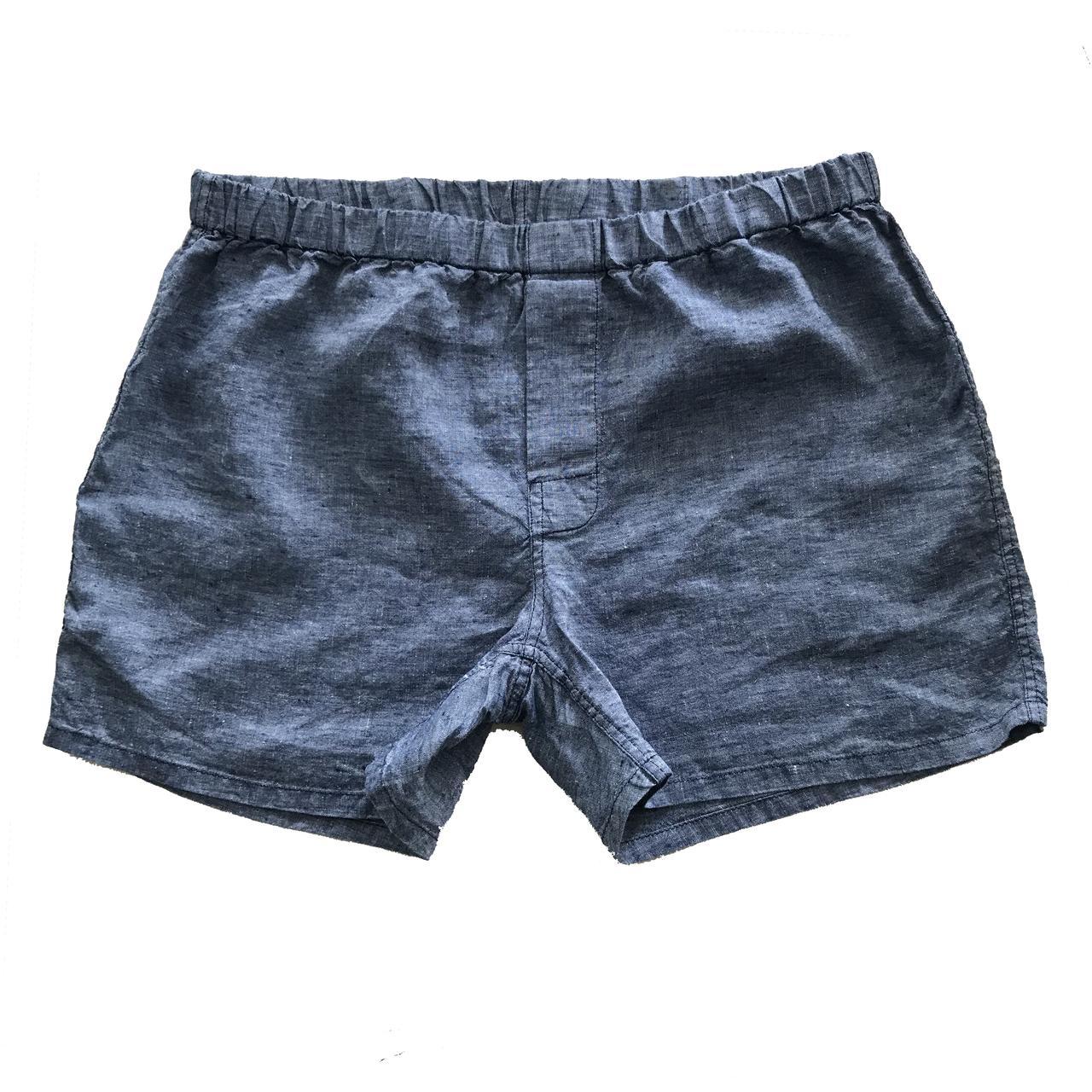 Linoto Linen Boxer Shorts, $34 @linoto.com