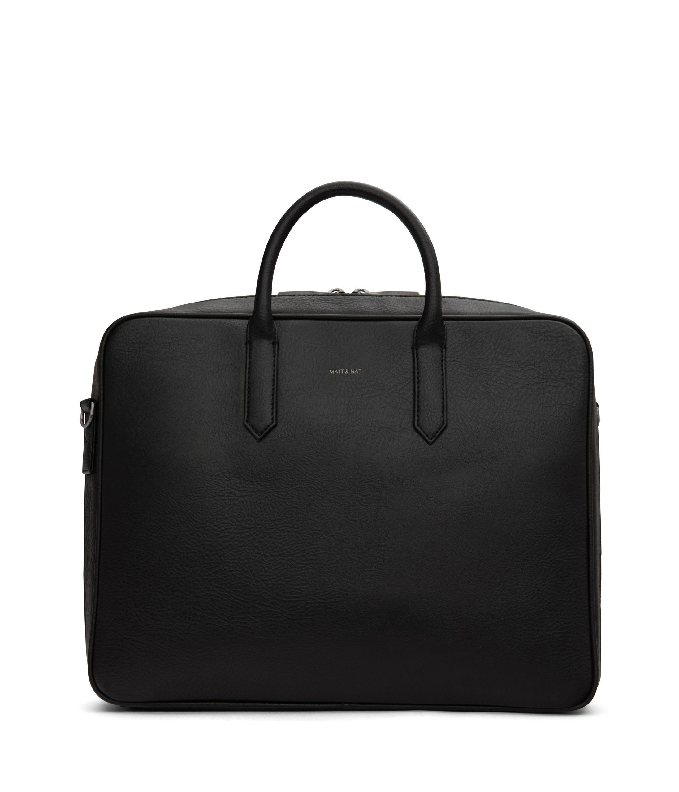 Elon Briefcase, $240 @mattandnat.com