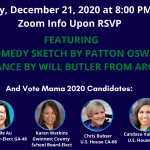 You're Invited To A Holiday Party Hosted by Patton Oswalt & Will Butler (Arcade Fire)