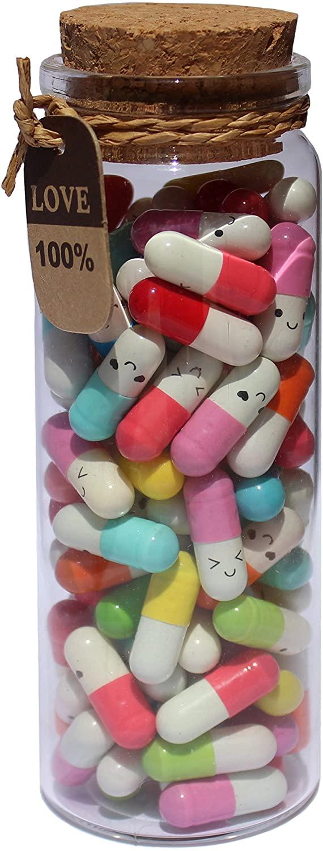 Capsule Letters Message in a Bottle, $13.99 @amazon.com