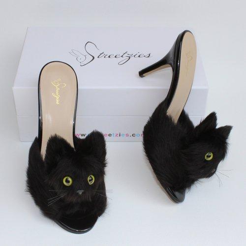 High Heel Kitty Slippers, $227 @streetzies.com