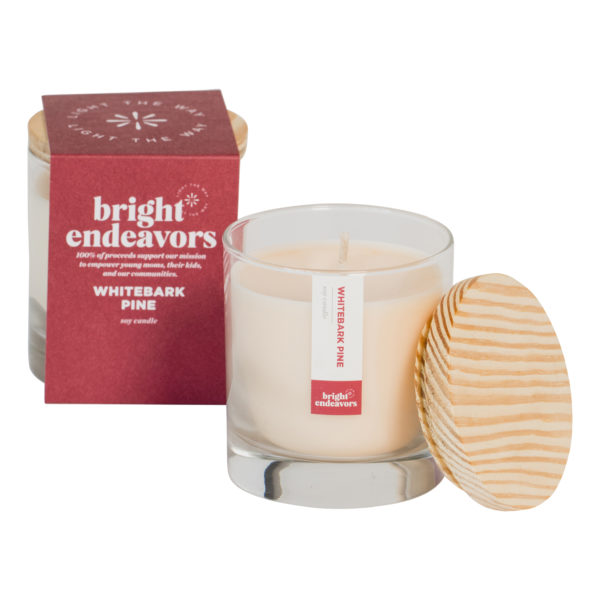 Signature Glass Soy Candle, $22 @brightendeavors.org