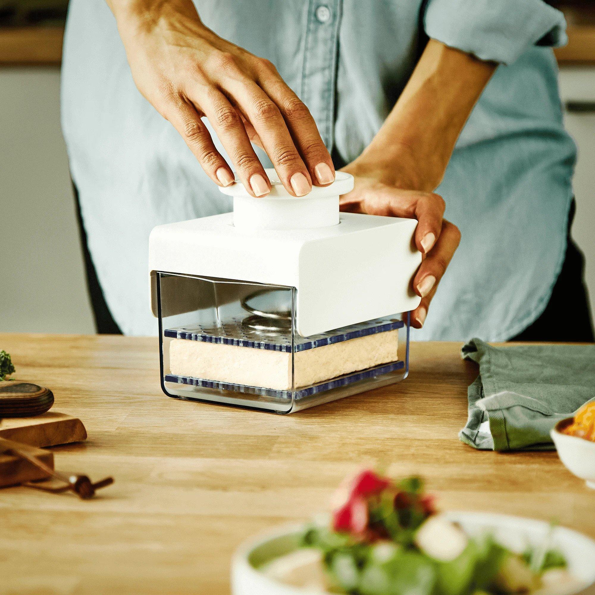 TofuBud Tofu Press, $35 @tofubud.com