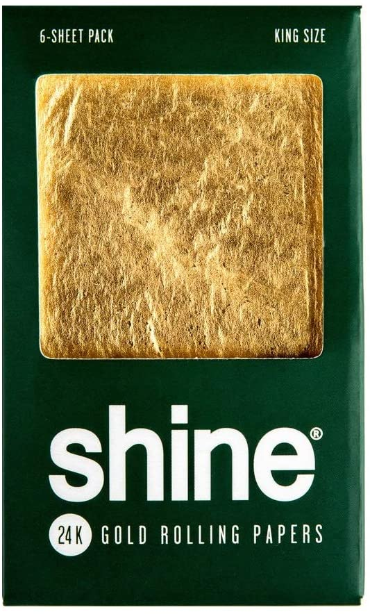 Shine 24k Rolling Papers, $32 @amazon.com
