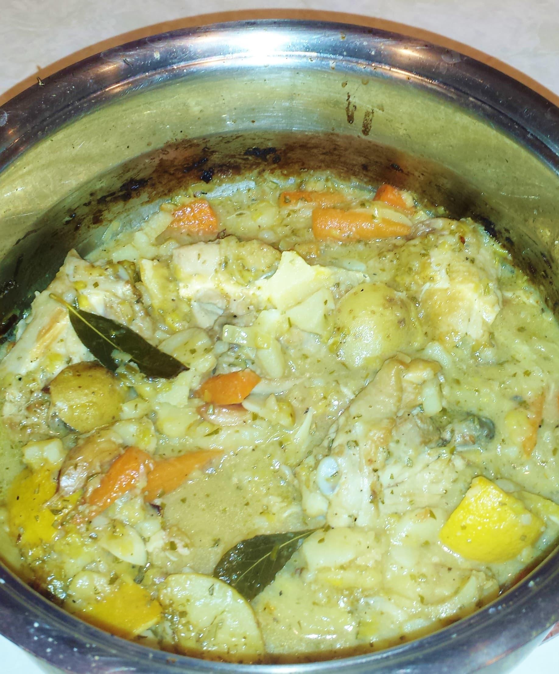Lemon Rosemary Chicken and Potatoes