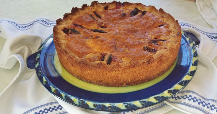 Heavenly Plum Clafoutis