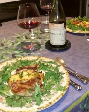 Dinner in 30 minutes? Escalope de Foie Gras à la Vinaigrette!