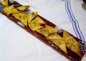 Tunisian Squash Samosas