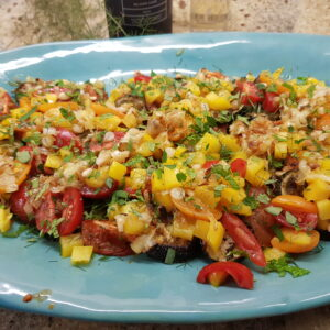 Raw and Roasted Summer Salad 2