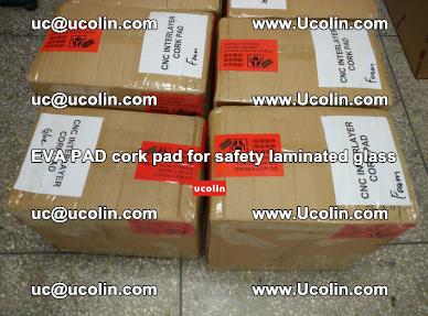 EVA PAD cork pad for safety glazing glass separation (13)