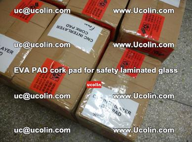 EVA PAD cork pad for safety glazing glass separation (19)