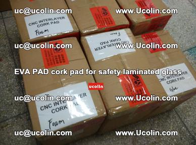 EVA PAD cork pad for safety glazing glass separation (20)