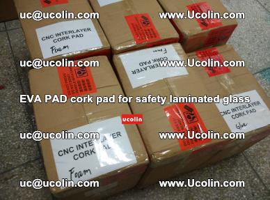 EVA PAD cork pad for safety glazing glass separation (21)