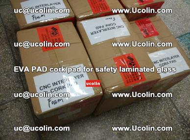 EVA PAD cork pad for safety glazing glass separation (27)