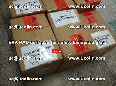 EVA PAD cork pad for safety glazing glass separation (29)